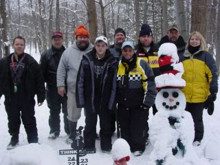 Windy Ridge Group from Lovells Michigan, Frederic Michigan, and Ontario Canada. 12-30-07