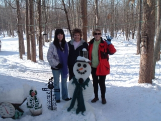 Kathy Hensley, Kathy Cavanary, and Sally Baker from Mt. Pleasant, MI. January 16, 2010