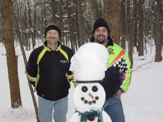 Charles Beckman from Burton, MI and Duane Kiesling from Flint, MI. 12-13-09