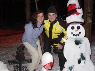 Steve and April Crane, St. Clair Shores, MI 12-30-07