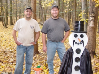 John Wolf from Grandville, MI and Pat Cunningham from Holland, MI. October 23, 2009