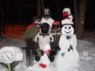 Braxton, Zach, Jenna, and Nicole Deford, from Warsaw, Indiana 12-30-07