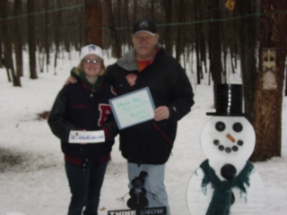 Jim and Meghan Gerhardt from Westland, MI. 1-24-10.