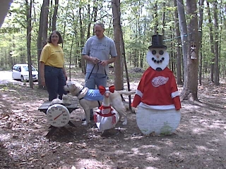 Tony and Linda Gimble with Leader Dog Vesper from Moline Illinois May 20, 2009