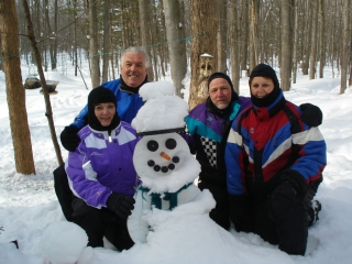 Joe & Donna Kay from New Baltimore MI and Kurt & Judy Koch from New Haven, MI. 1-30-09