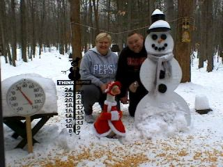 Scott and Cindy McGillis from Lansing Michigan. 12-15-07