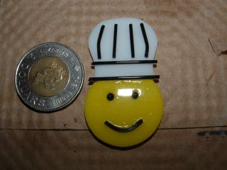 Chef charm made by Ohio Lutes.