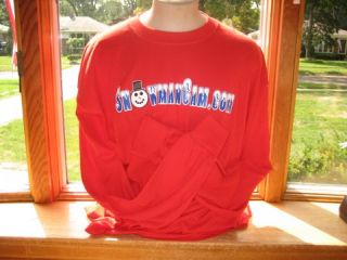 Snowman Cam Long Sleeve T-Shirt
